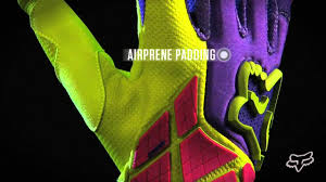 fox motocross gloves 2013 fox racing 360 flight motocross glove review youtube