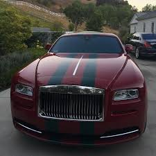 roll royce maroon celebrity cars blog