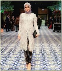 model baju kebaya muslim 25 model kebaya muslim terbaru 2018 page 3 of 3 hijabunda