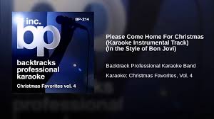 christmas classic orginal vol 2 compile by djeasy come home for christmas karaoke instrumental track in
