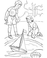 boat kids color 021