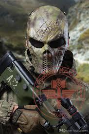 half skull mask halloween tactical rattlesnake mandrake scary horror skull chastener typhon