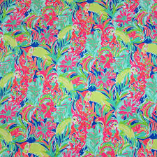 Lilly Pulitzer Home Decor Fabric by 1 Yard 36 X 56 Lilly Pulitzer 2016 Fabric