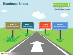 roadmap powerpoint template