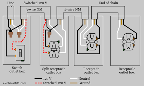 wiring a 2 gang outlet wiring wiring diagrams
