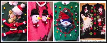 my ugly christmas sweater information about our sweaters and company