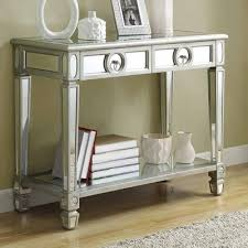 entrance table and mirror mirrored console table home decor and furniture deals