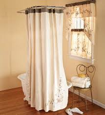 Matching Shower Curtain And Window Curtain Interesting Bathroom Design With Shower Curtain With Matching For