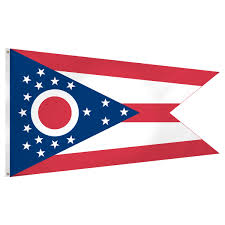 3 X 5 Flags Ohio Flag 3 X 5 Feet Superknit Polyester
