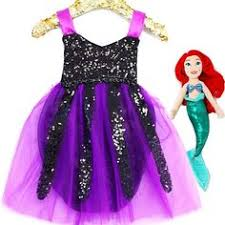 disney ursula little mermaid inspired tutu dress 2t 3t 4t 5t