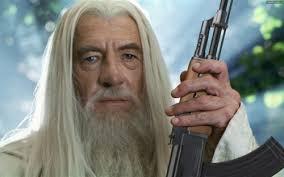 Gandalf Meme - create meme gandalf with an ak gandalf with an ak gandalf