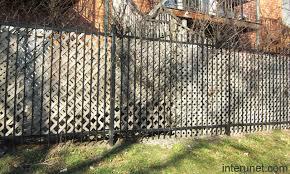 wood lattice wall steel fence with wood lattice panels picture interunet