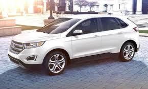 white ford edge car revs daily com 2015 ford edge oxford white 4