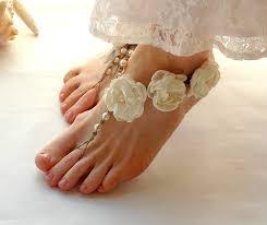 wedding shoes etsy barefoot sandals bridal barefoot sandals wedding shoes
