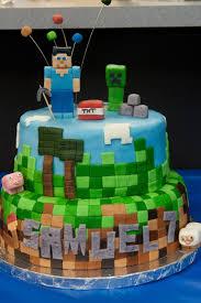 pink bluebonnet minecraft cake partyideen pinterest