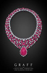 pink ruby necklace images Graff diamonds carved ruby tourmaline and diamond necklace hot jpg