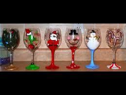 DIY Hand Painted Wine Glasses CHRISTMAS EDITION ♡ Theeasydiy