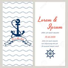 Nautical Save The Date Nautical Style Wedding Invitation And Save The Date Templates