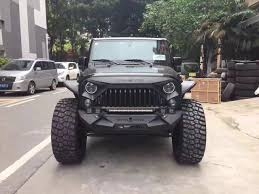 jeep gladiator 1975 matte black angry bird gladiator grille for jeep wrangler jk 07 17