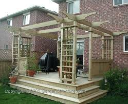 Wood Project Plans Small by Simple Deck Designs Free Simple Deck Plans Woodworking Project