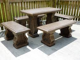 Cement Patio Table Cement Modern Patio Furniture Photograph 13 Awesome Cement Patio