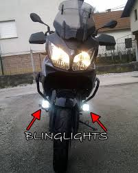 kawasaki v strom vstrom 650 abs dl650 led driving lights fog lamps