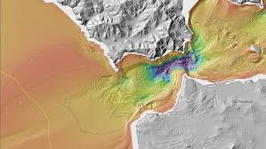 Topographic Map Of The World by New Maps Reveal California U0027s Sensational Seafloor Geography Wired