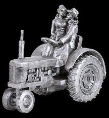 tractor wedding cake topper just hitched cake topper by montana silversmiths