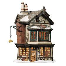 amazon com department 56 dickens village ebenezer scrooge u0027s house