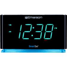 clock radio with night light smartset alarm clock radio with bluetooth speaker usb charger for