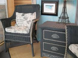 Wicker Nightstands For Sale Best 25 Painted Wicker Furniture Ideas On Pinterest Painted