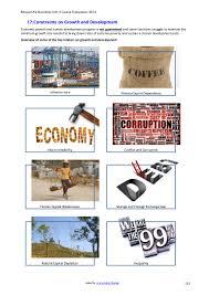 constraints on economic development revision pack
