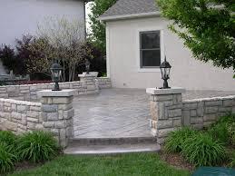 Stamped Concrete Patio Maintenance Custom Concrete Plus Custom Concrete Services Offered In Columbus