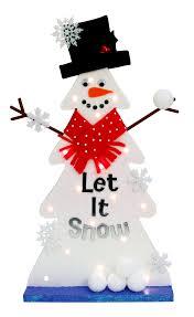 nicole crafts wood christmas tree snowman christmas craft