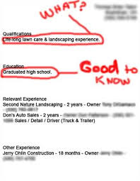 Funny Resume Examples by Resume Makeovers Learn From Good And Bad U003ca Href U003d