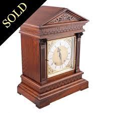 Mantel Clocks Antique Antique Mantel Clock Victorian Oak Cased Mantel Clock