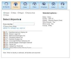 airport operations and ranking reports u2013 using the air traffic