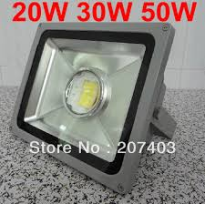 Focus Led Landscape Lighting Free Shipping Waterproof Lens Focus 20w 30w 50w Led Flood Light
