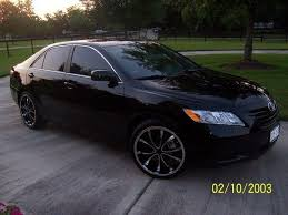 all black toyota camry 2007 toyota camry 20 inch rims 3 car 20 inch rims