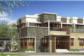 roof flat roof homes designs bhk modern house design with