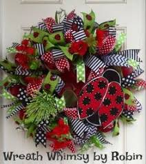 deco paper mesh ladybug deco paper mesh wreath tutorial mesh wreath tutorial
