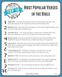 scriptures on thanksgiving kjv the top 10 most popular verses in the bible free printable