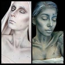 Halloween Statue Costume Living Statue Makeup Google Makeup Inspiration