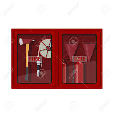 american fire hose cabinet fire hose cabinet on white background box with firefighters