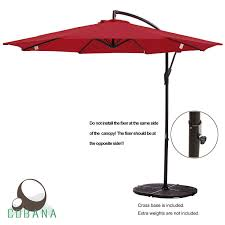 Best Cantilever Patio Umbrella 6 Best Cantilever Umbrellas Of 2017