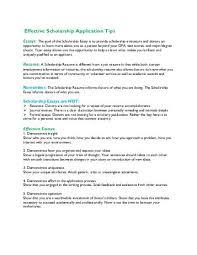 Steps to an Effective Scholarship Essay Yumpu
