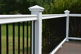 Patio Lighting Options by Fiberon Symmetry Railing Gives You So Many Options To Customize