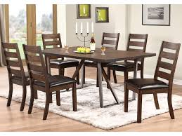 winners only kendall 7 piece dining set with trestle table dunk