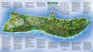 Map Of Hawaii Islands Large Molokai Maps For Free Download And Print High Resolution