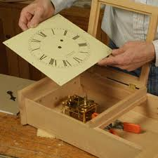 free plan shaker wall clock finewoodworking
